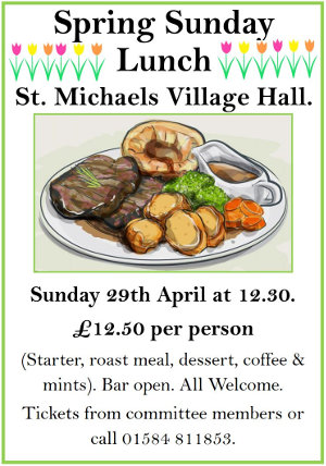 Spring Sunday Lunch