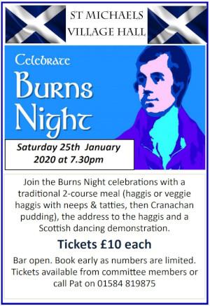 Celebrate Burns Night